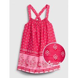 Toddler Paisley Sleeveless Dress