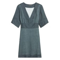 Ramie Mini Dress