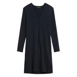 Merino-Blend Duster Cardigan Sweater
