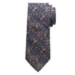 Floral Field Cotton-Silk Tie