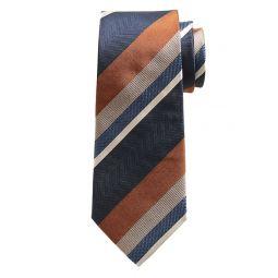 Drake Stripes Silk Tie