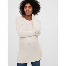 Maternity Boatneck Sweater